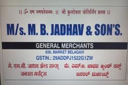 M/s M.B.JADHAV & SONS